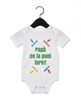 Body neonato istruzioni per papà