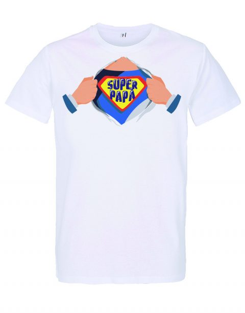 T-shirt Super Papà