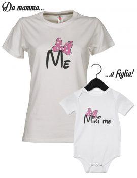T-shirt mamma e figlia